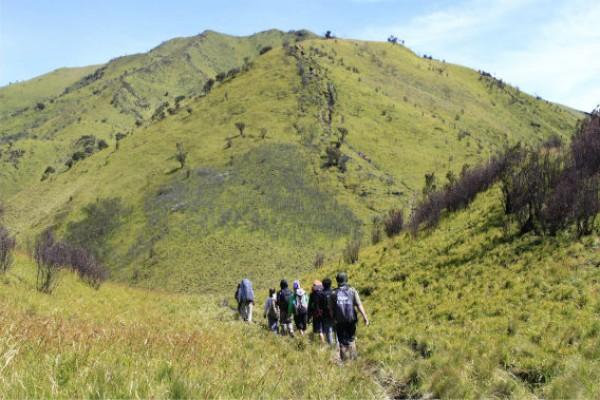 catatan perjalanan gunung merbabu
