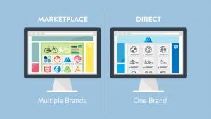 perbedaan online shop dan marketplace