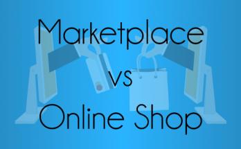 perbedaan online shop dengan marketplace