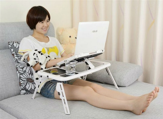 meja portable laptop