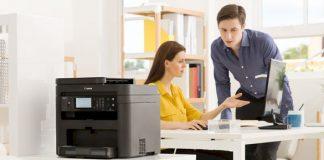 memilih printer