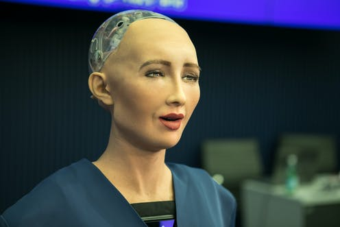 robot AI sophia